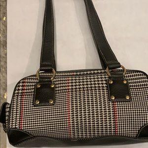 Ralph Lauren x Chaps Houndstooth Shoulder Bag